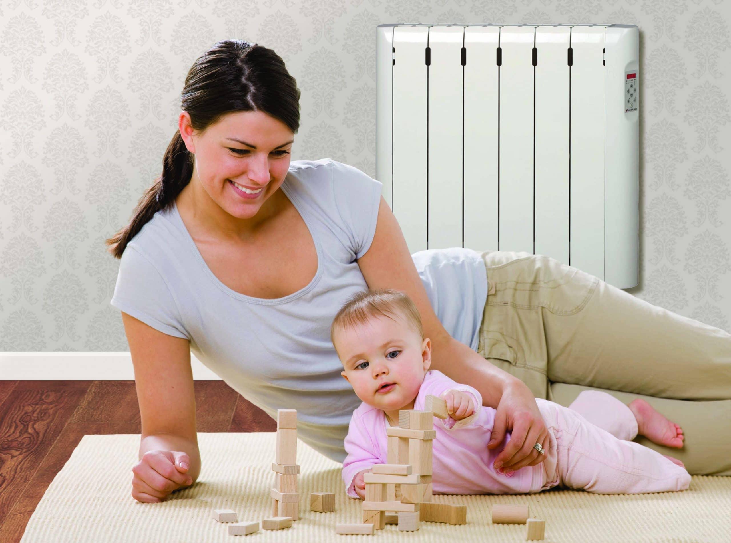 Mum baby - Consejos para un buen uso de la calefacción eléctrica.