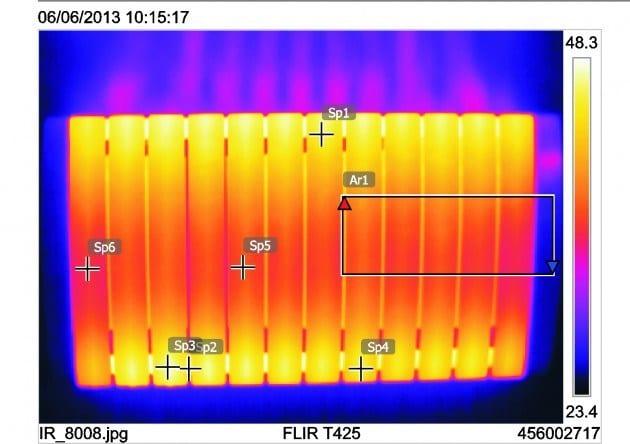 C mara termogr fica qu es c mo se aplica en un emisor - Que es un emisor termico ...
