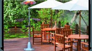 heatinglawn 300x167 - ¿Cómo aprovechar las terrazas con el frío del otoño?